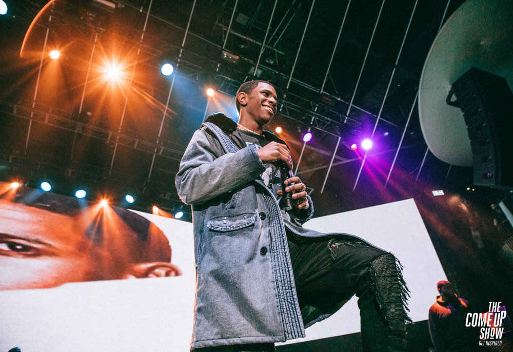 An appearance by Rapper A Boogie Wit da Hoodie provoked pandemonium at Queens Center Mall. Photo via The Come Up Show/Flickr.