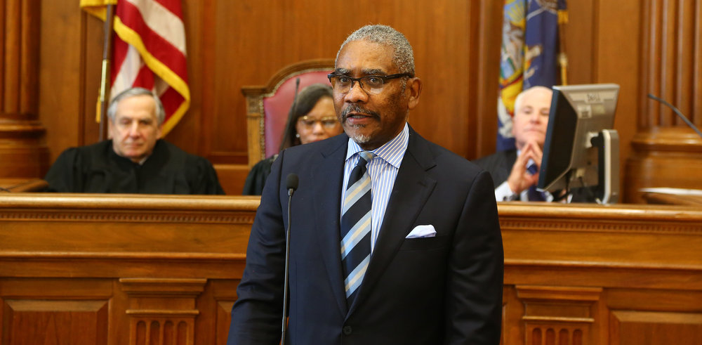 U.S. Rep. Gregory Meeks is the new chairperson of the Queens County Democrats.  Eagle  file photo by Andy Katz.