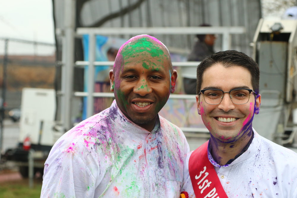Councilmembers Donovan Richards (left) and Eric Ulrich.