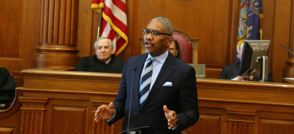 U.S. Rep. Gregory Meeks, the new chairperson of the Queens County Democratic Committee.  Eagle  file photo by Andy Katz