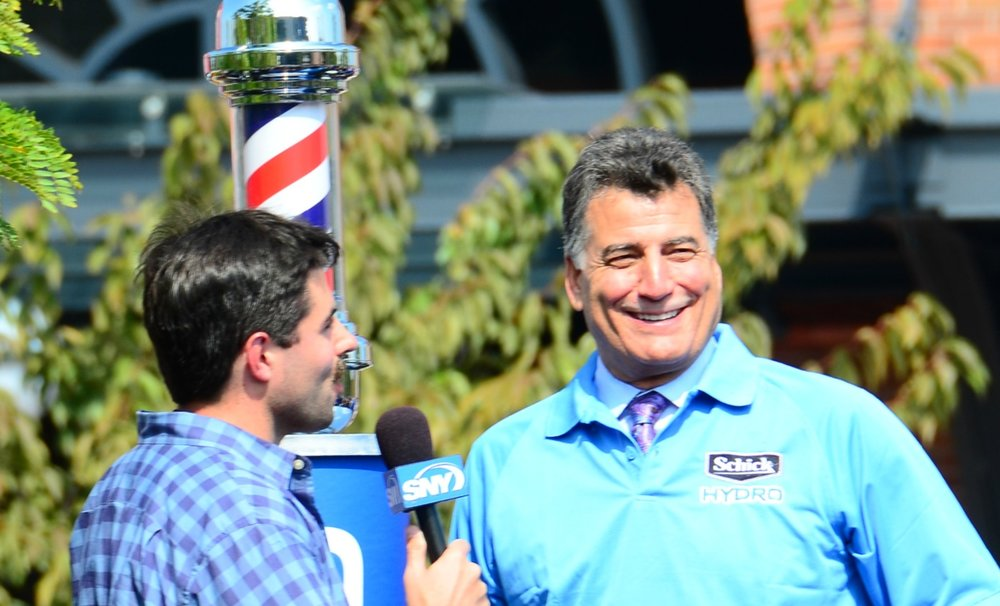Twitter star/Mets announcer Keith Hernandez. Photo by  slgckgc  via Wikimedia