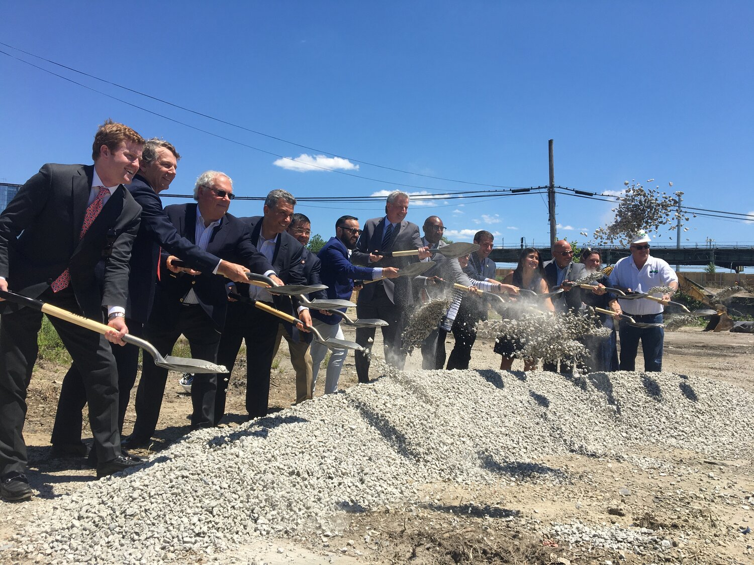 Electeds break ground on Willets Point development  — Queens Daily Eagle