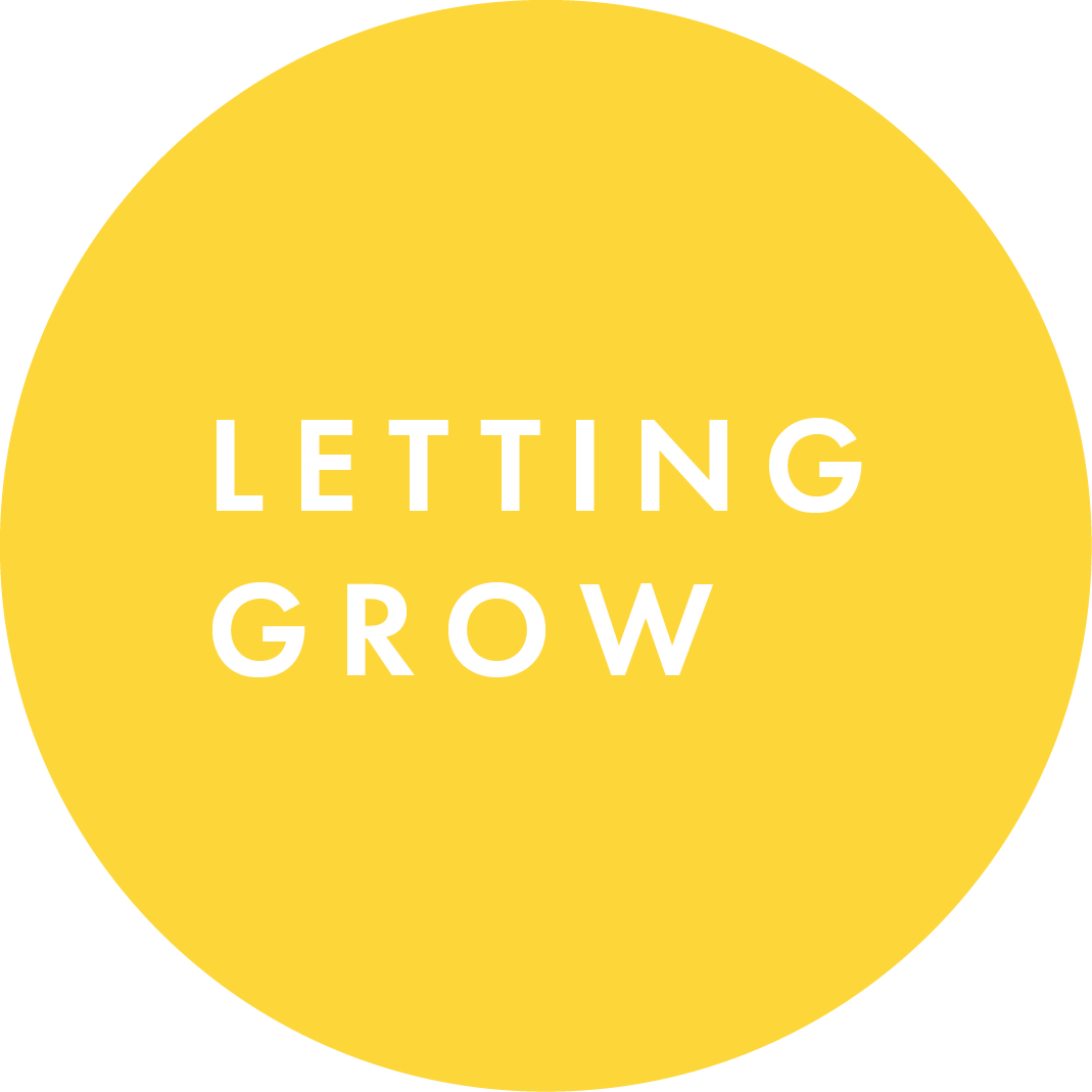 letting grow