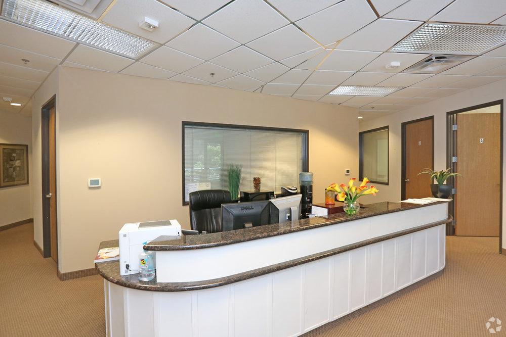 Executive Suite Reception Area