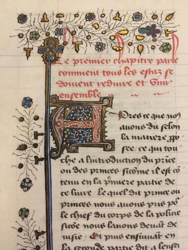 Christine de Pizan manuscript, British Library.