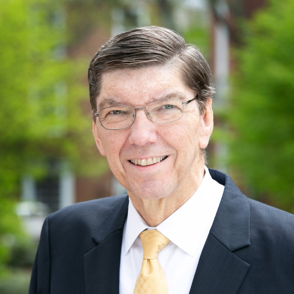CLAYTON M. CHRISTENSEN  Kim B. Clark Professor of Business Administration at the Harvard Business School; regarded as one of the world's top experts on innovation and growth