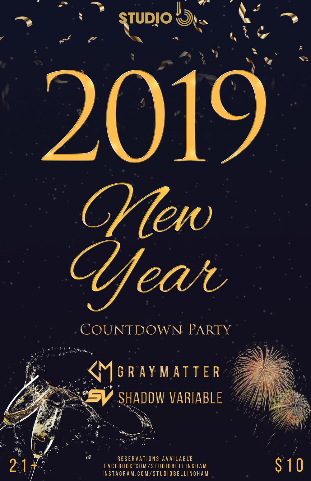 Copy of New Year's Eve Party