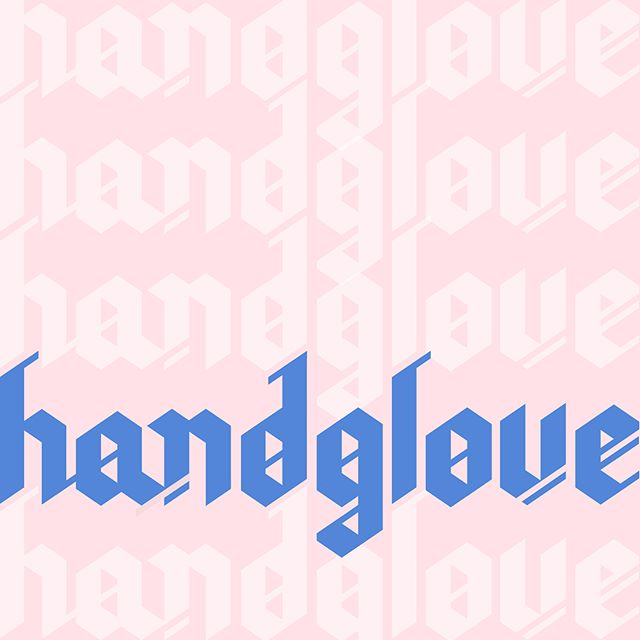 Putting on my working gloves. 🧤 • • • • • #design #lettering #calligraphy #blackletter #gothic #handlettering #type #typedesign #thedailytype  #typography #letters #graphicdesign #yvr #pink #handglove