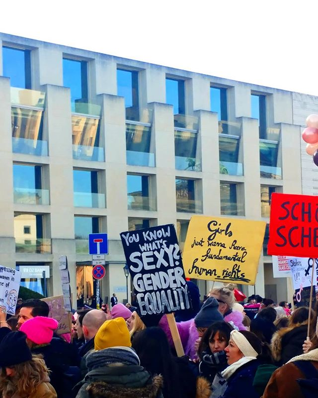 You know what's not sexy? You  #womensmarchberlin