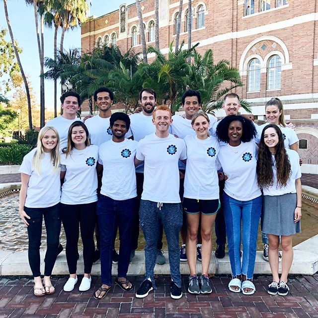 """Our E-Board has been working hard this year to meet out mission! As EWB 2018-2019 president Josh Neutel says, """"In only a year we've taken a reuse of rainwater system from idea to actual design, and we plan to implement this summer in Antigua. Our systems will prolong our partner Common Hope's well by 10 years. We've also established a new relationship with a community in Kenya. This summer we are planning to implement a new irrigation system for the people there. The system will not only increase food production, but it is a symbolic agreement of peace between two communities with tense pasts. Outside of our project teams, our fundraising team had its most successful semester in quite some time, as we raised almost 10 grand in 4 months, all of which will go towards our projects. We've also ramped up our marketing efforts with a new website. Finally, we have had an internal focus on fostering a sense of community within our club and with local EWB chapters, and have executed this vision by hosting many events for both our members and members of other SoCal chapters."""" Interested in joining our E-Board? Talk to one of our E-Board members today! #EWBUSC"""