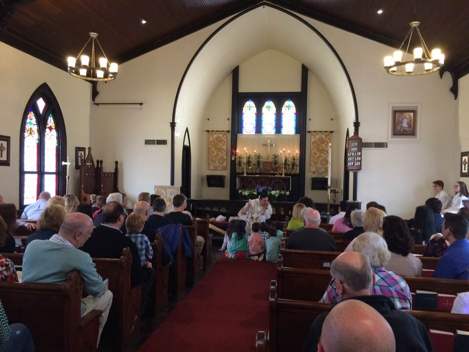Sunday - 10:00 AM - Holy Eucharist, Rite II.Music and Hymns, and occasionally Children's Homilies.