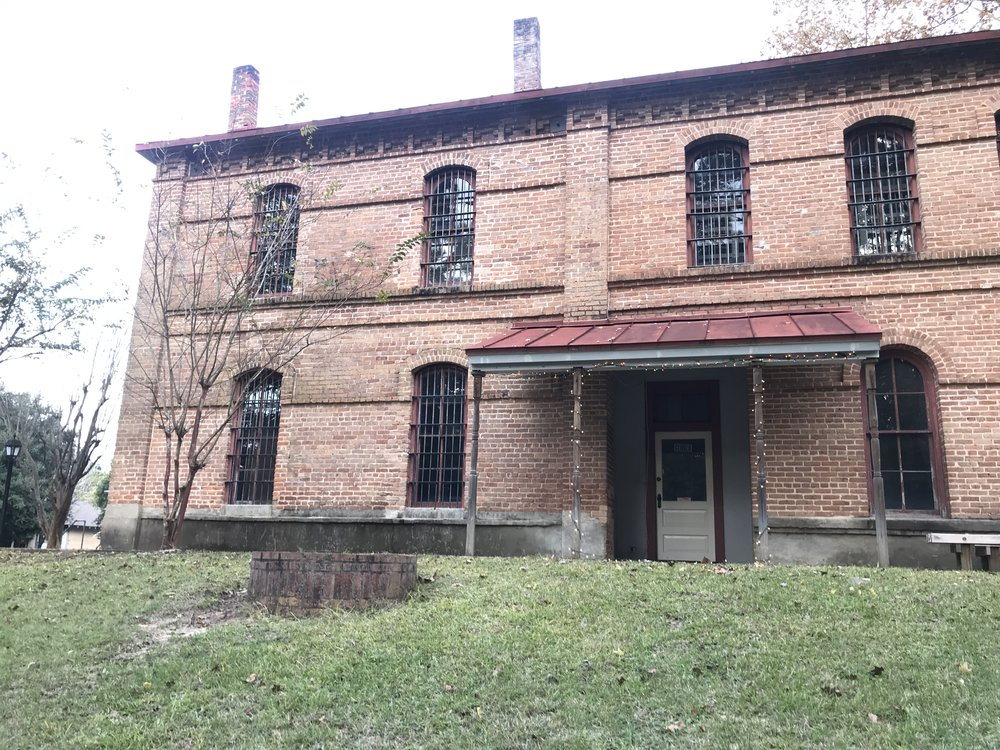Old county jail house.