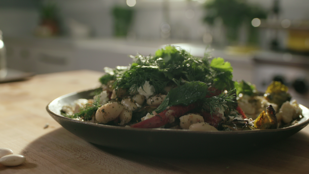 Bean and Roasted Veg Salad – Coming soon!
