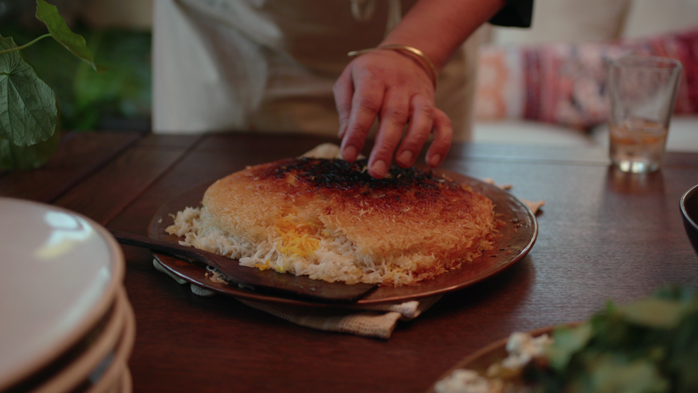 Persian-ish Rice with Tahdig
