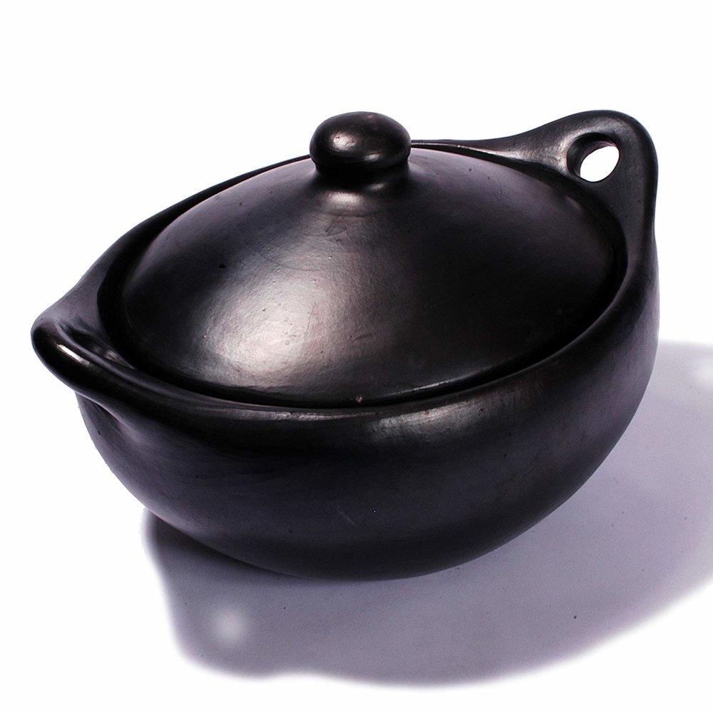 Chamba ware bean pot, $56