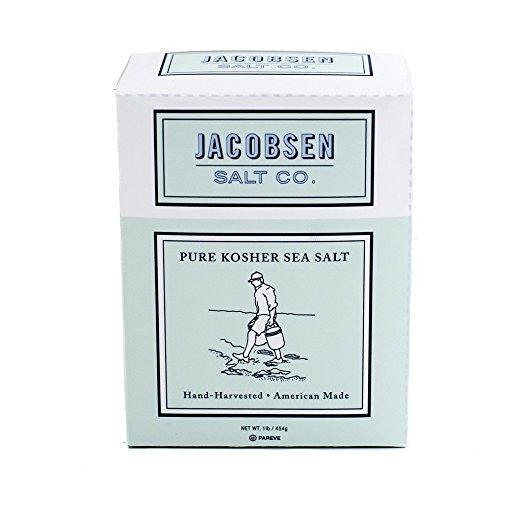 Jacobsen Kosher Salt, $11