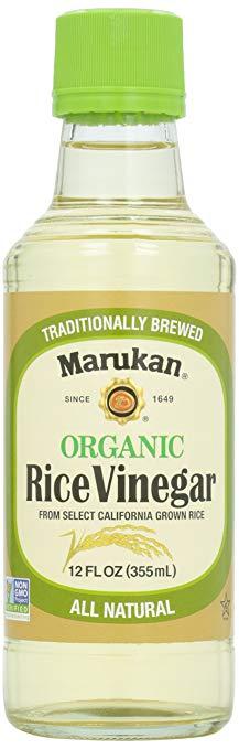 Rice Vinegar, $18