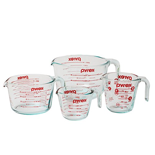 Liquid Measuring Cups, $25