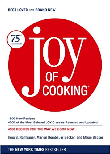 The Joy of Cooking, by Irma Rombauer