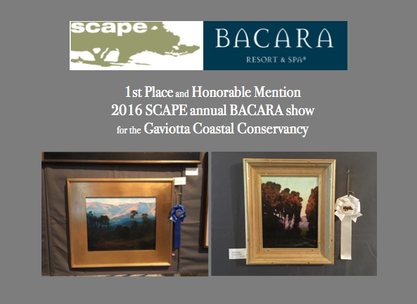 Bacara - Awards at the SCAPE Bacara Ritz Carlton show include:1st PlaceHonorable Mention