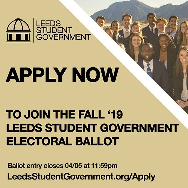 One day left to join the LSG Ballot!  LeedsStudentGovernment.org/apply