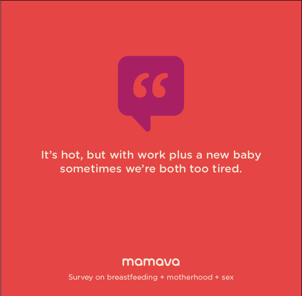 It's hot, but with work plus a new baby sometimes we're both too tired.