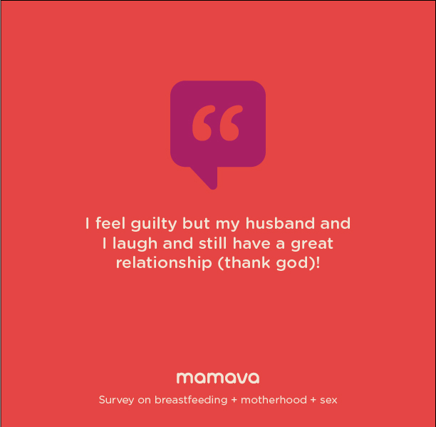 I feel guilty but my husband and I laugh and still have a great relationship (thank god)!