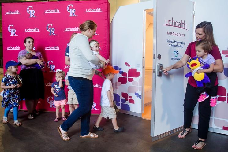 Denver Stadiums Hit It out of the Park for Breastfeeding Moms | Mamava