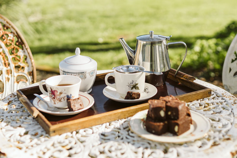 Devonshire Tea - — $10pp*Freshly made light fluffy scones with butter, a selection of homemade jams and jellies and, of course, lashing of cream. All served with plunger coffee, tea or herbal tea.*please note there is a minimum of 10 people required for Devonshire Teas