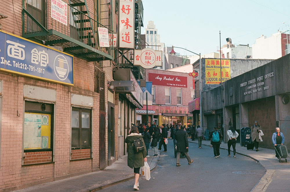 New York City, Chinatown - April 2018 Voigtlander Bessa R3M with Nokton 40mm 1.4 on Kodak Ektar