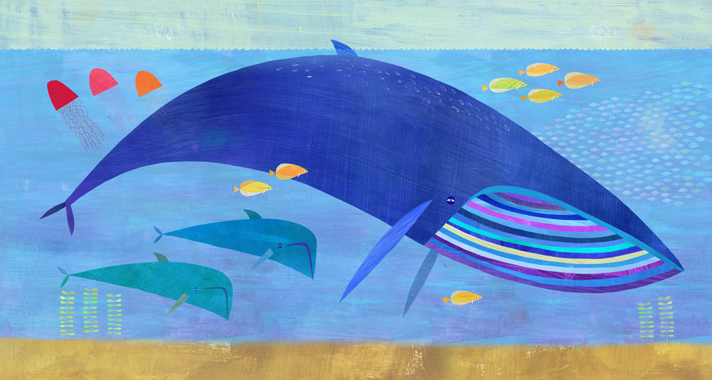 blue whale bunch