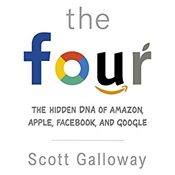 "The Four: The Hidden DNA of Amazon, Apple, Facebook, and Google. - ""The war for tech enabled talent has reached a fever pitch. A horseman's ability to attract and retain the best employees is the number one issue for all four firms. Their ability to manage their reputations, not only among young consumers, but also among their potential work force is critical to success."" – Scott Galloway"