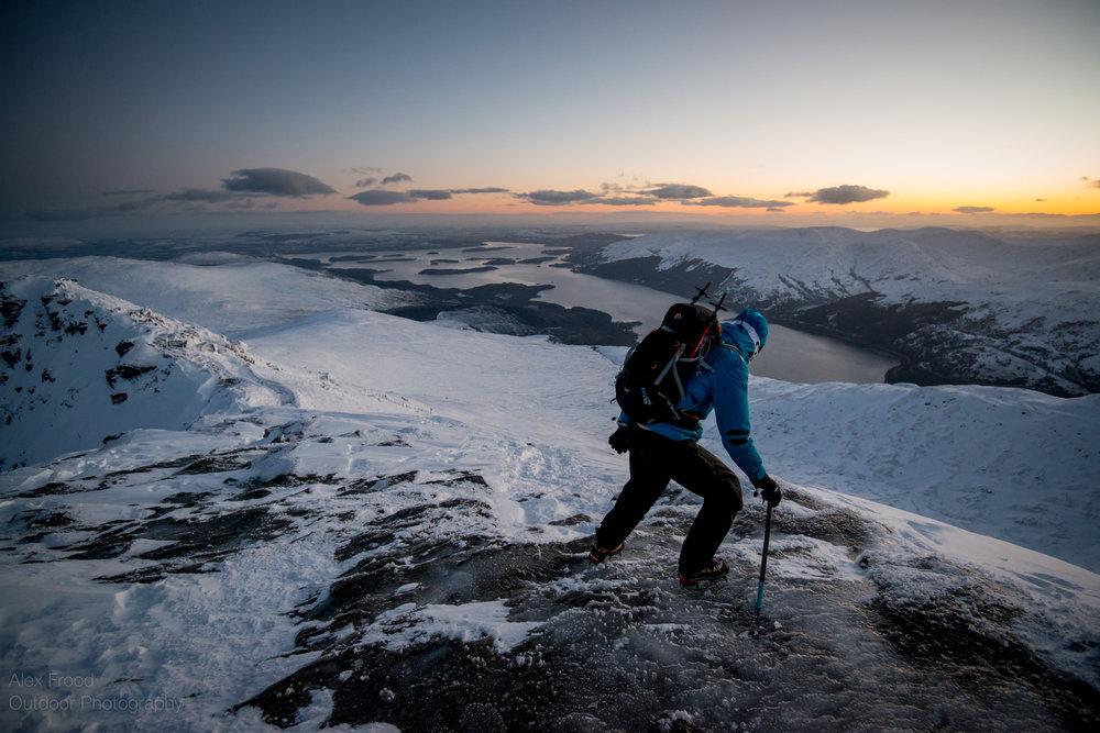 Ben Lomond via Ptarmigan ridge