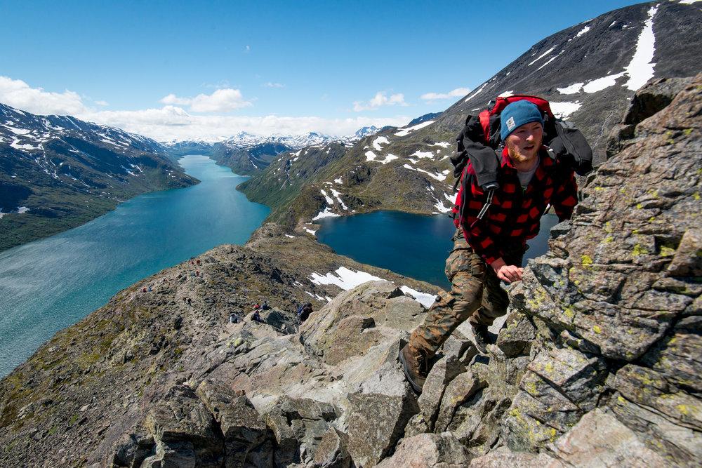 Jbesseggen Ridge, otunheimen National Park, Norway