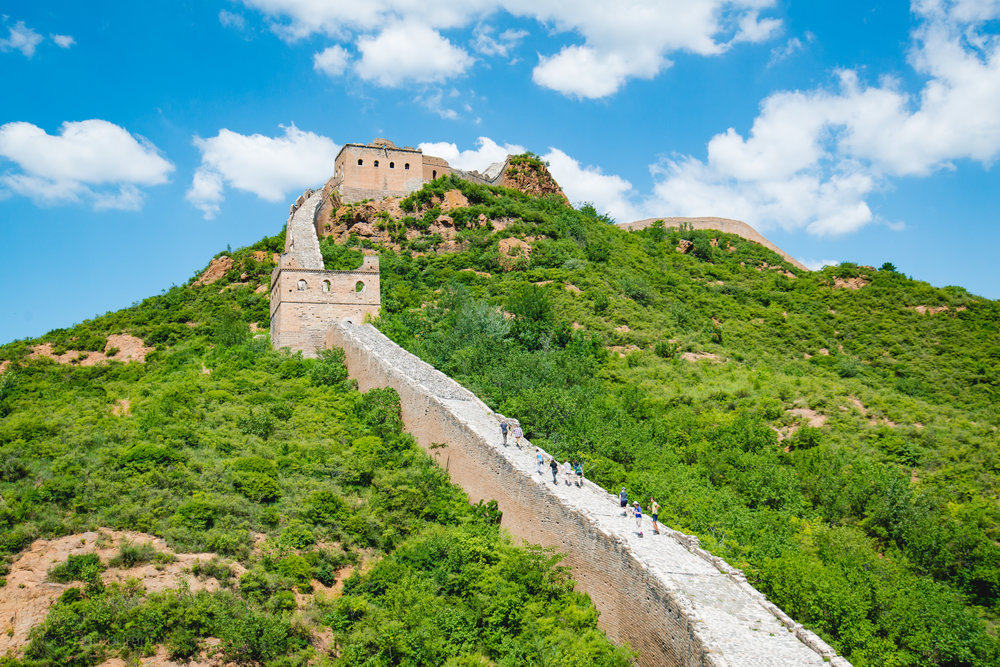 Great Wall of China, Jinshanling, China