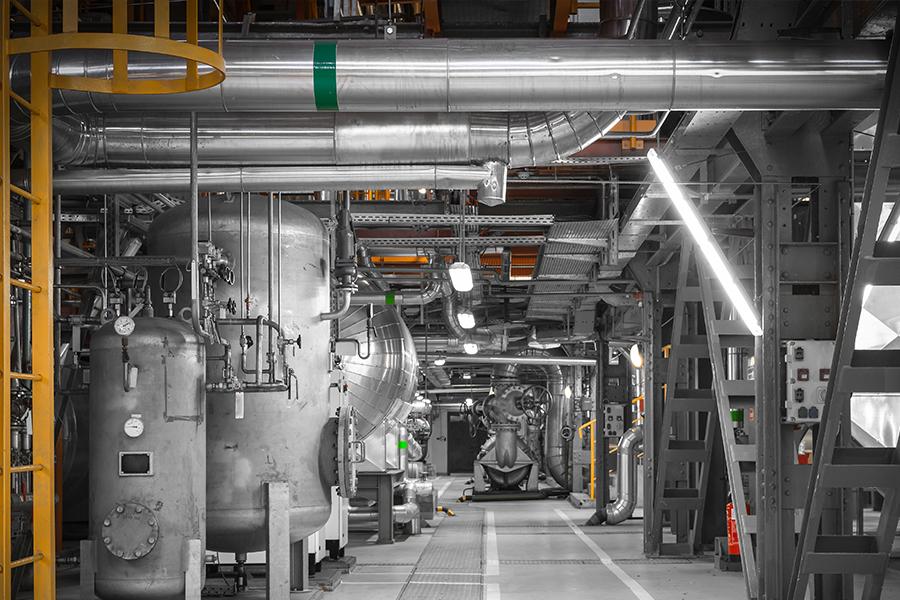 Industrieanlagen -