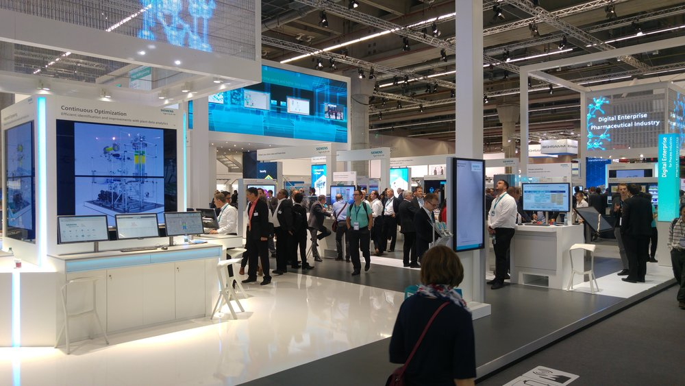 Siemens – Exhibition Design and Print