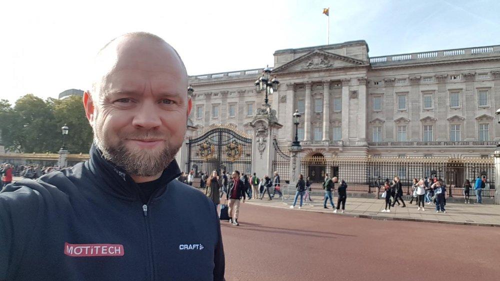 SATSER I ENGLAND: Med støtte fra Sport England, skal Motitech nå teste ut Motiview i England. På bildet, daglig leder, Jon Ingar Kjenes.
