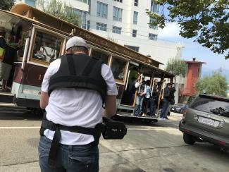 De ikoniske trikkene i San Franciscos gater vil snart bli å se i MOTiview-biblioteket