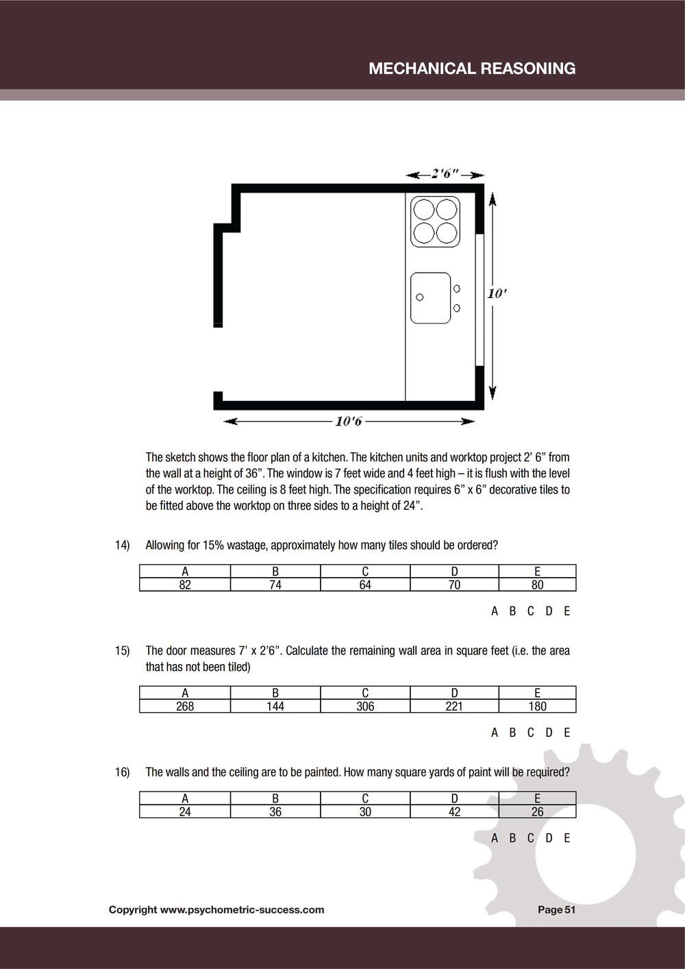 Mechanical Reasoning Ebook