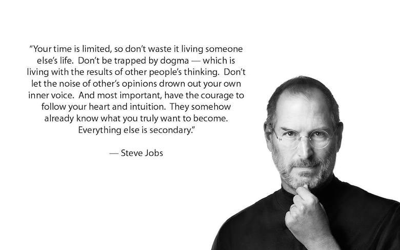 Steve Jobs intuition