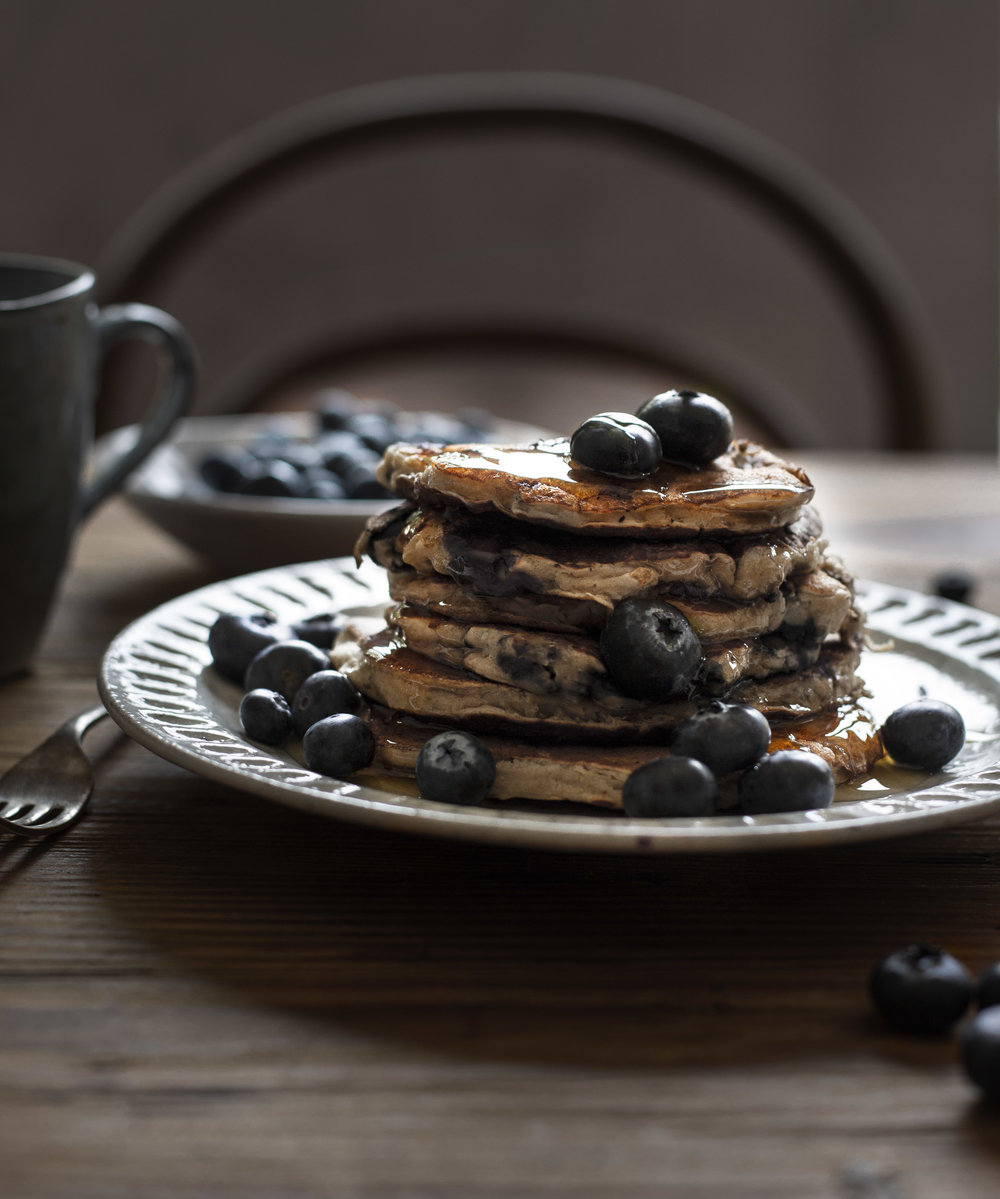The Compassionate Kitchen Vegan pancake