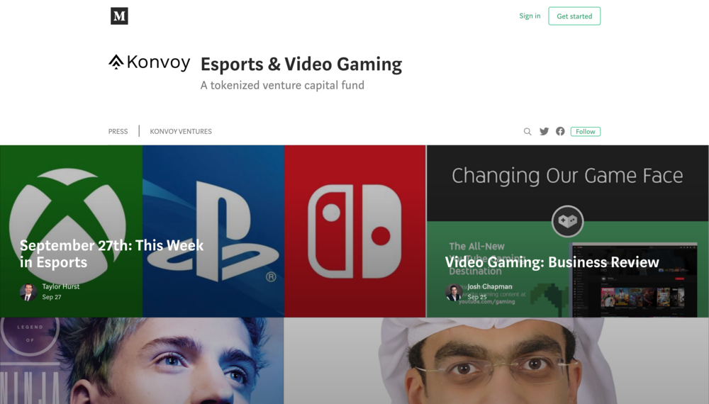 Stay up to date - Check out our blog for esports news, business analysis, and Konvoy updates