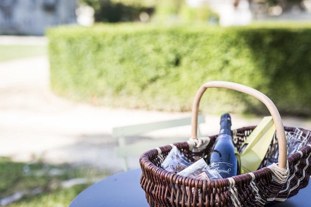 Les goûters aux jardins Château de Taisne