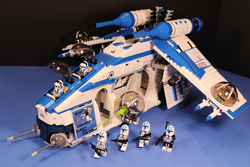 Lego Star Wars Gunship
