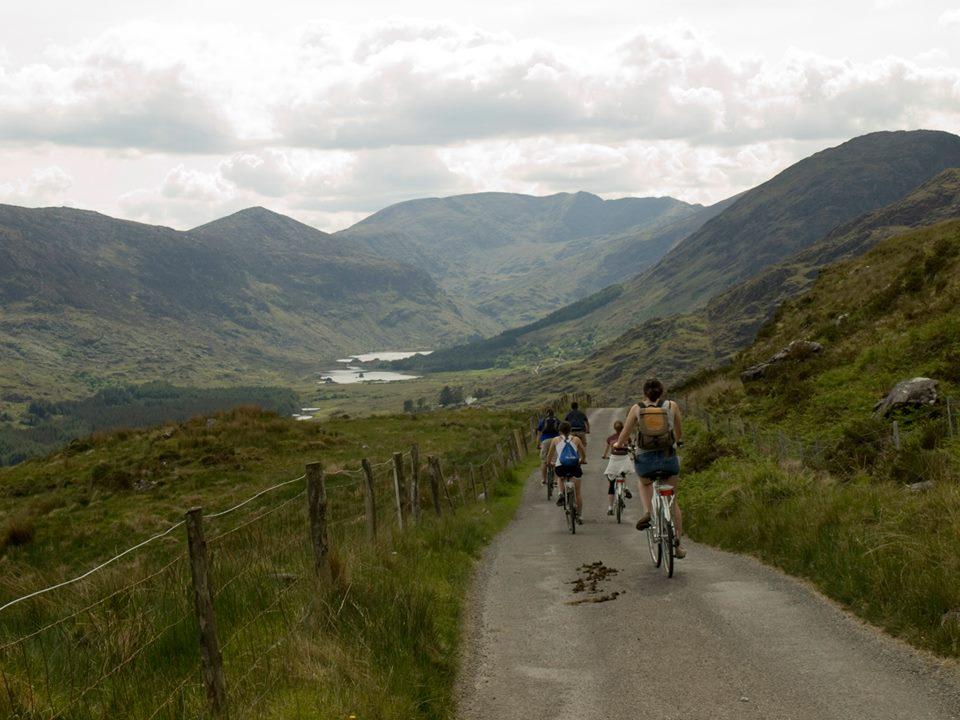 Biking in Killarney Ireland