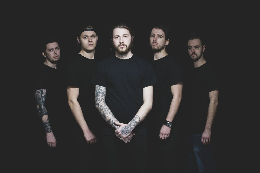Arkdown is Kyle Dawson (Vocals), Mike Dyson (Guitars), Mike Walker (Guitars), Ed Morley (Bass) and Alex Roberts (Drums)