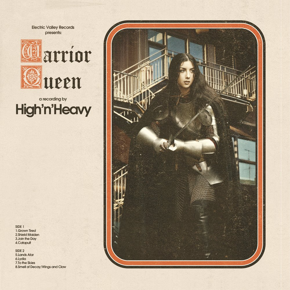 Warrior Queen is available on Bandcamp. Help support High N Heavy by purchasing the album directly!