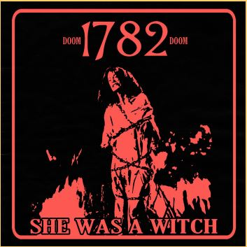 """Artwork by Sscvlt / Purchase """"She Was A Witch"""" on 1782's Bandcamp and support the artists and label!"""