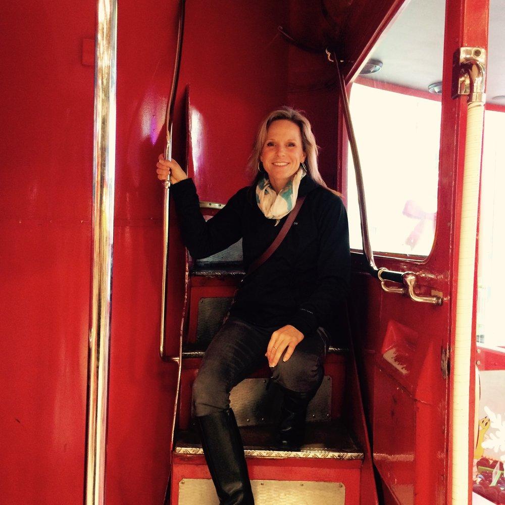 Exploring a double decker bus